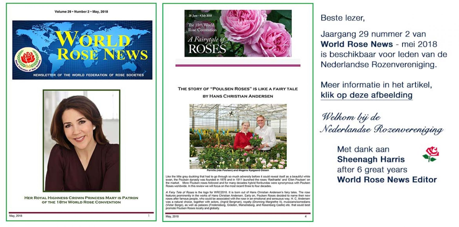 World Rose News – mei 2018