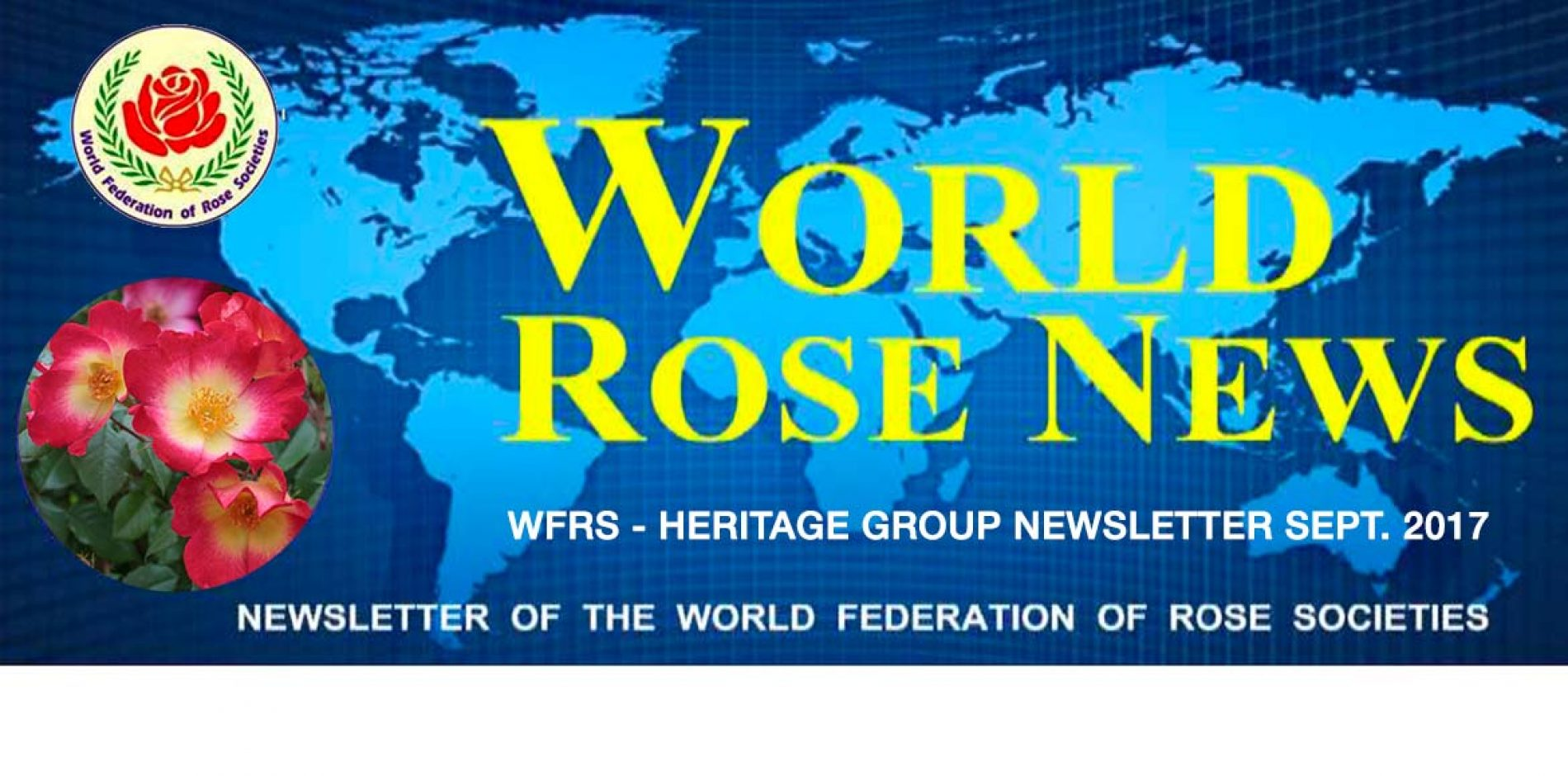 Nieuwsbrieven van de World Federation of Rose Societies