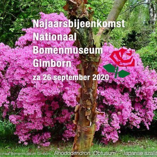 Najaarsbijeenkomst 26 sept 2020 in Doorn